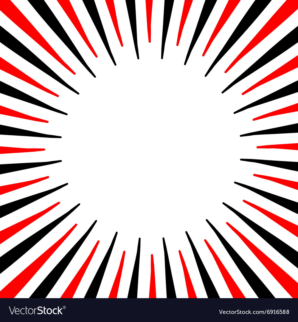 Bright red and black frame for your gift card or vector image