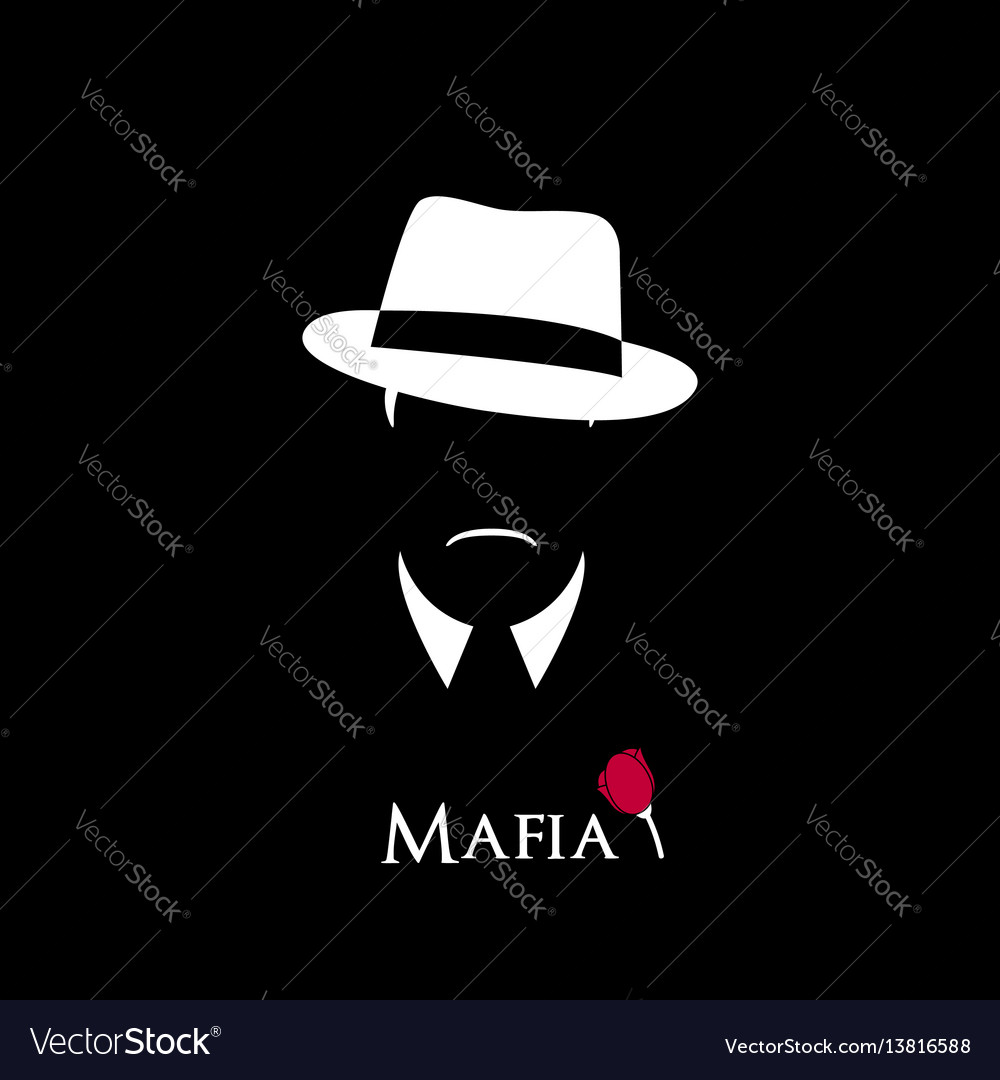 Italian mafioso vector image