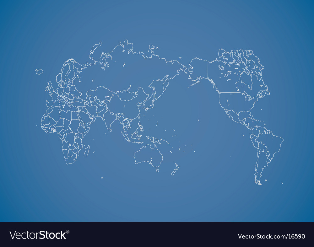 Globe design vector image