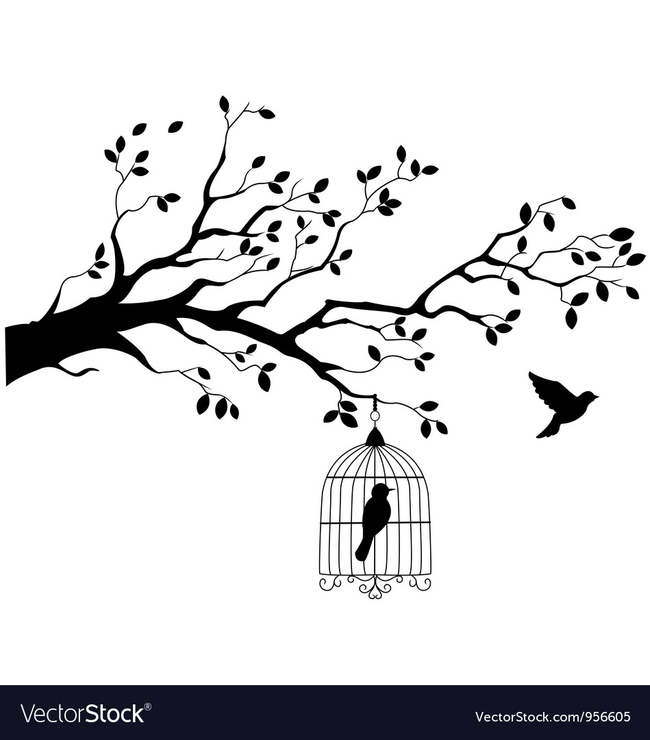http://www.vectorstock.com/i/composite/66,05/tree-silhouette-with-bird-flying-vector-956605.jpg