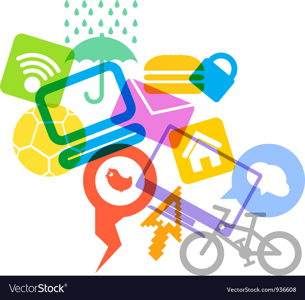 Colour vector image