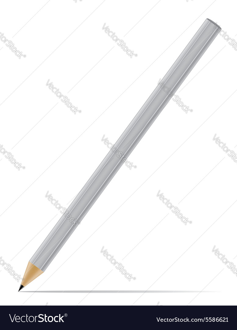 Sharpened pencil 05 vector image