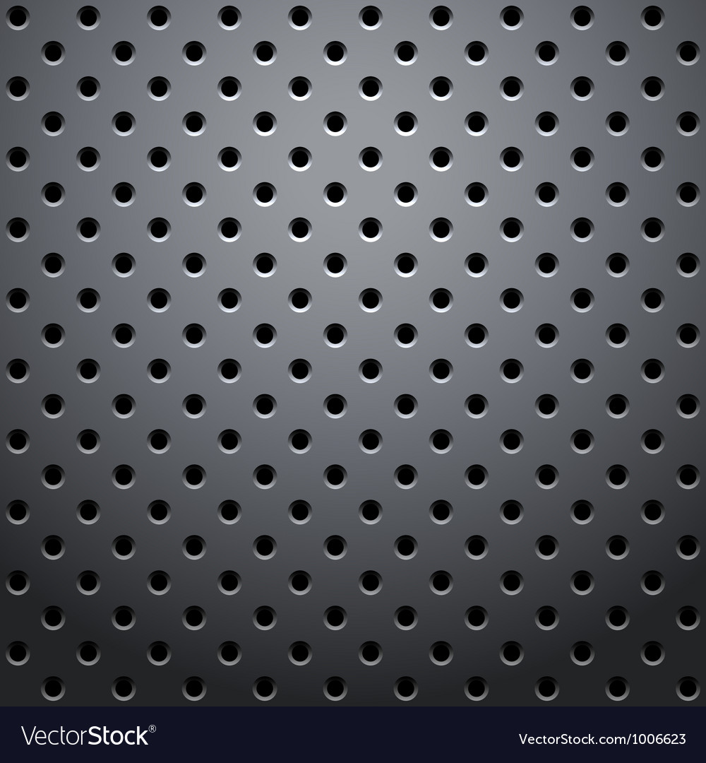 Grid round dots vector image