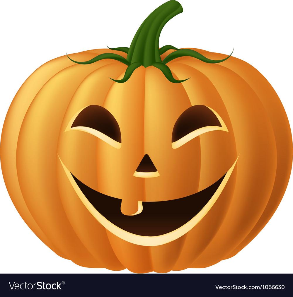 Happy jack o lantern vector image
