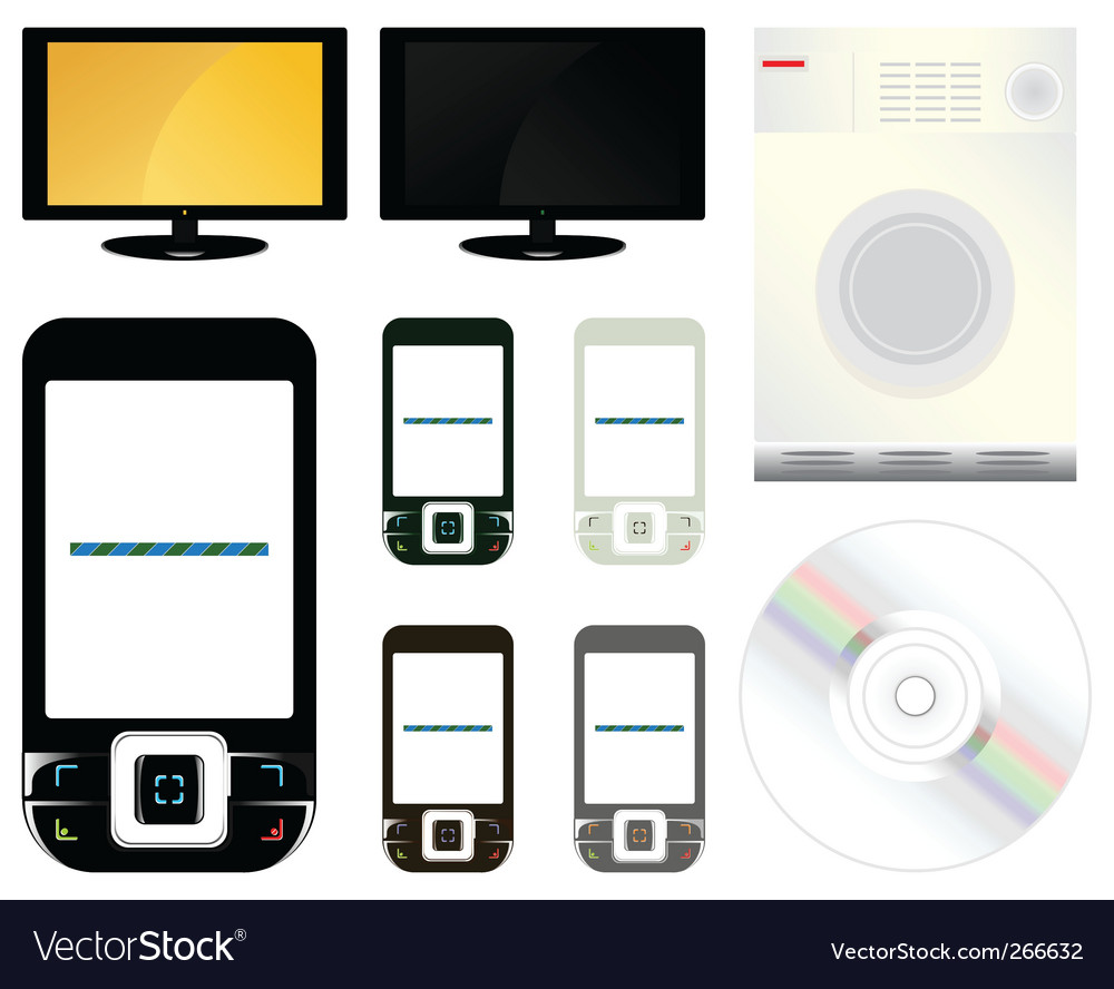 Technics vector image