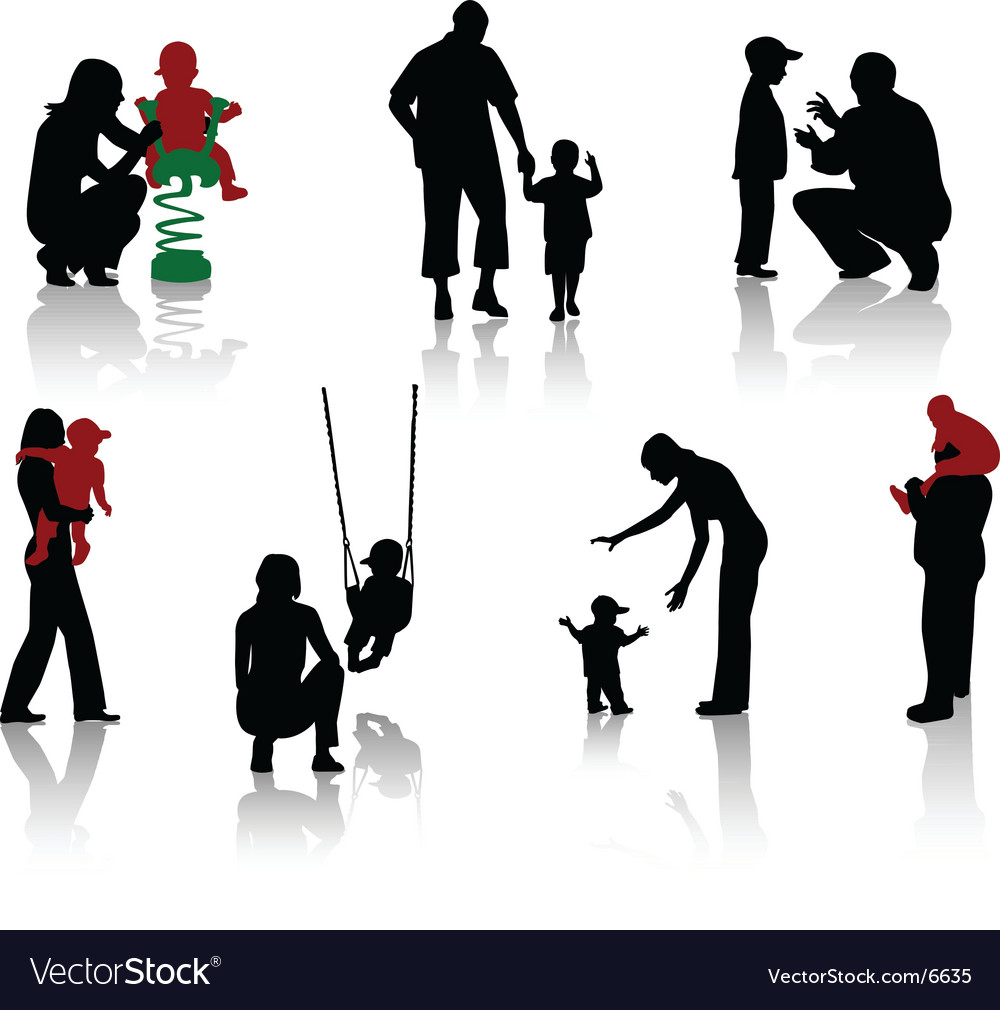Parents vector image