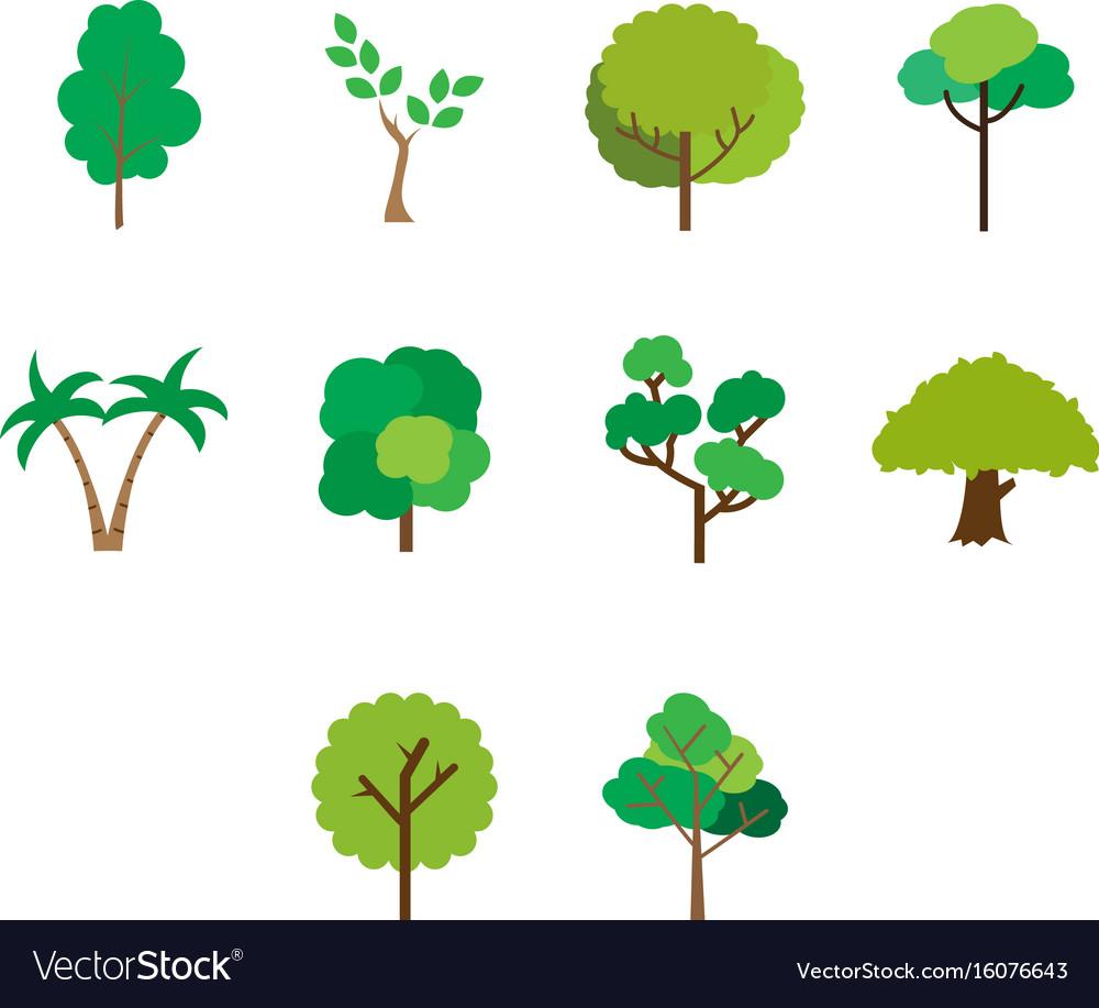 Banyan & Tree Vector Images (44)