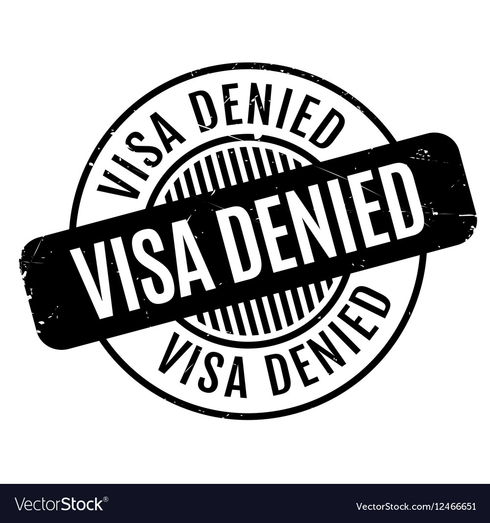 Visa denied rubber stamp royalty free vector image visa denied rubber stamp vector image biocorpaavc Choice Image