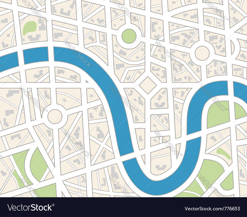 city map vector image. city map royalty free vector image  vectorstock