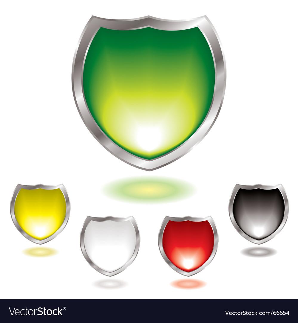 Gel shield vector image