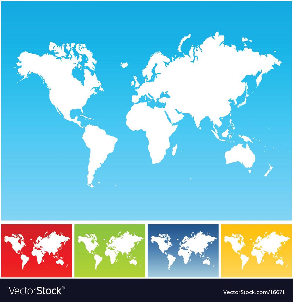 World circles vector image
