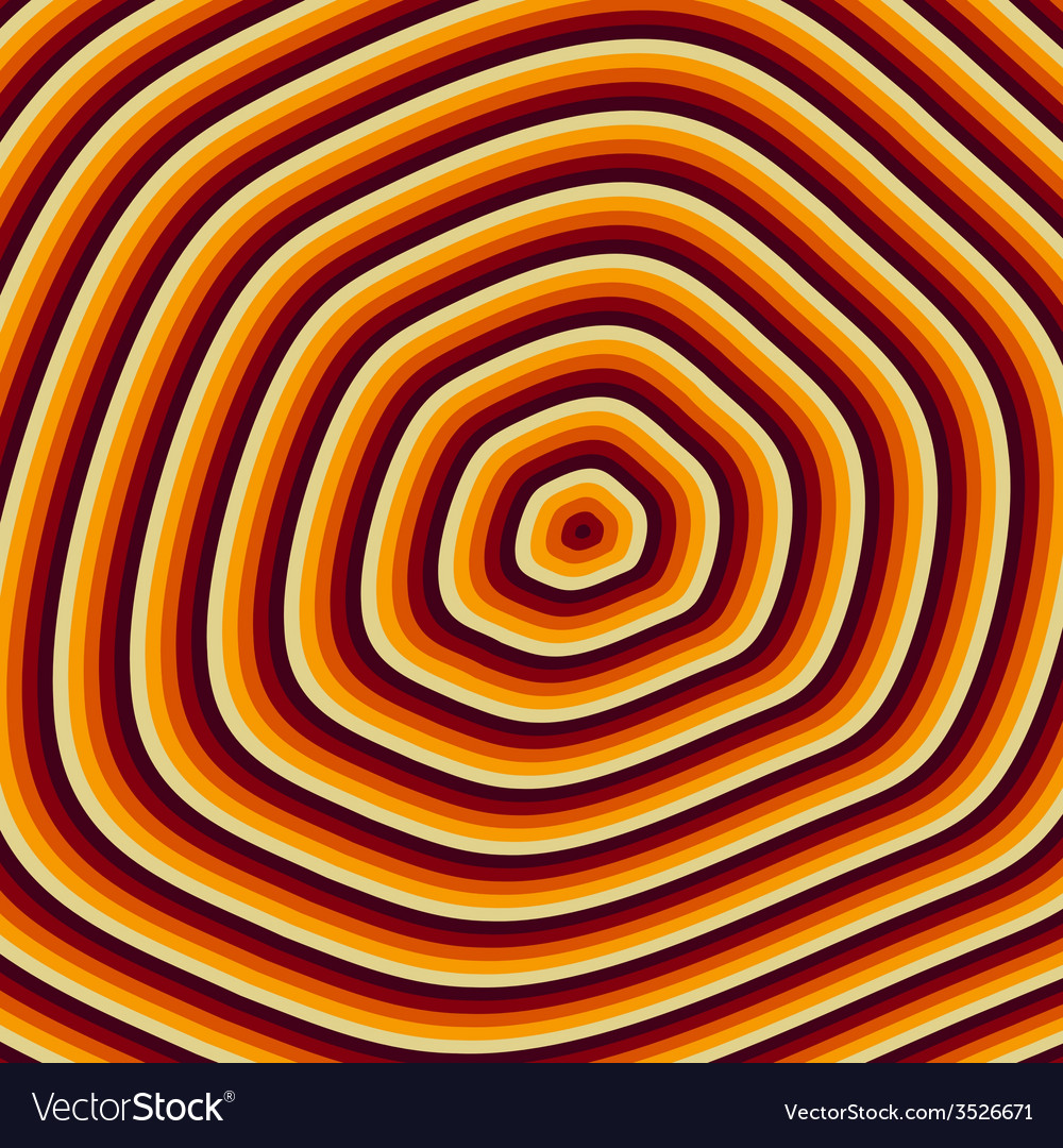 Growth rings vector image
