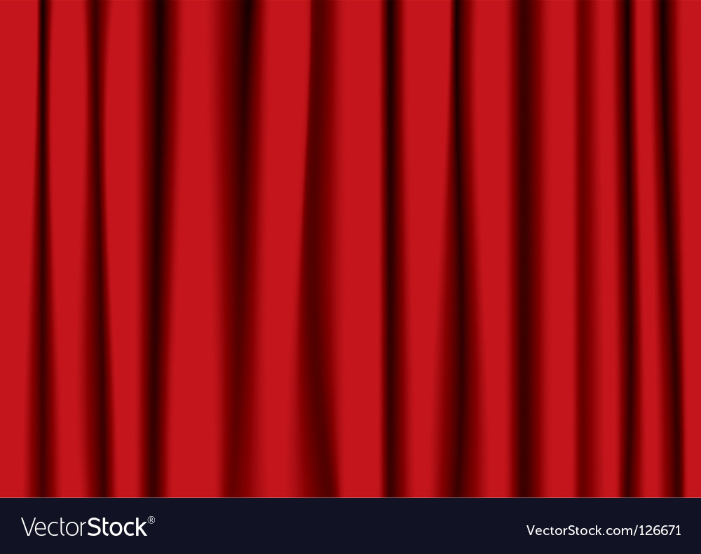 Ter curtain vector image