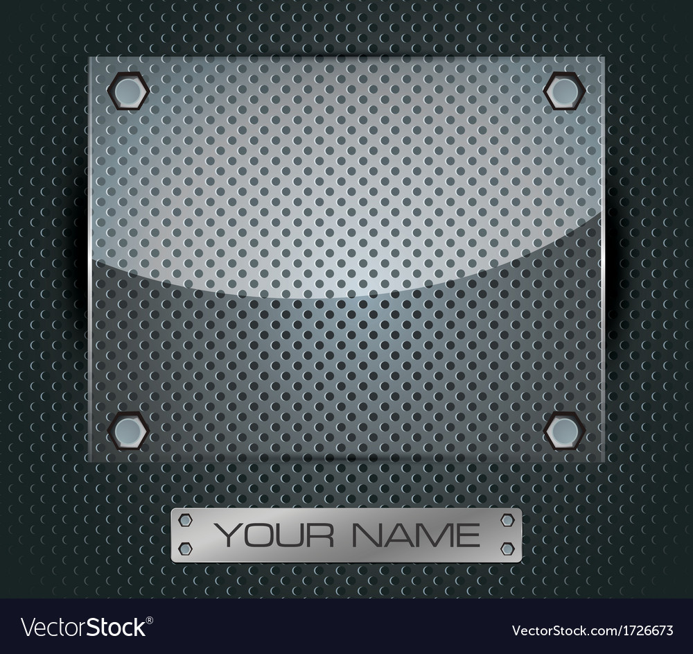 Glass Round Fiber Advertising Background 04 vector image