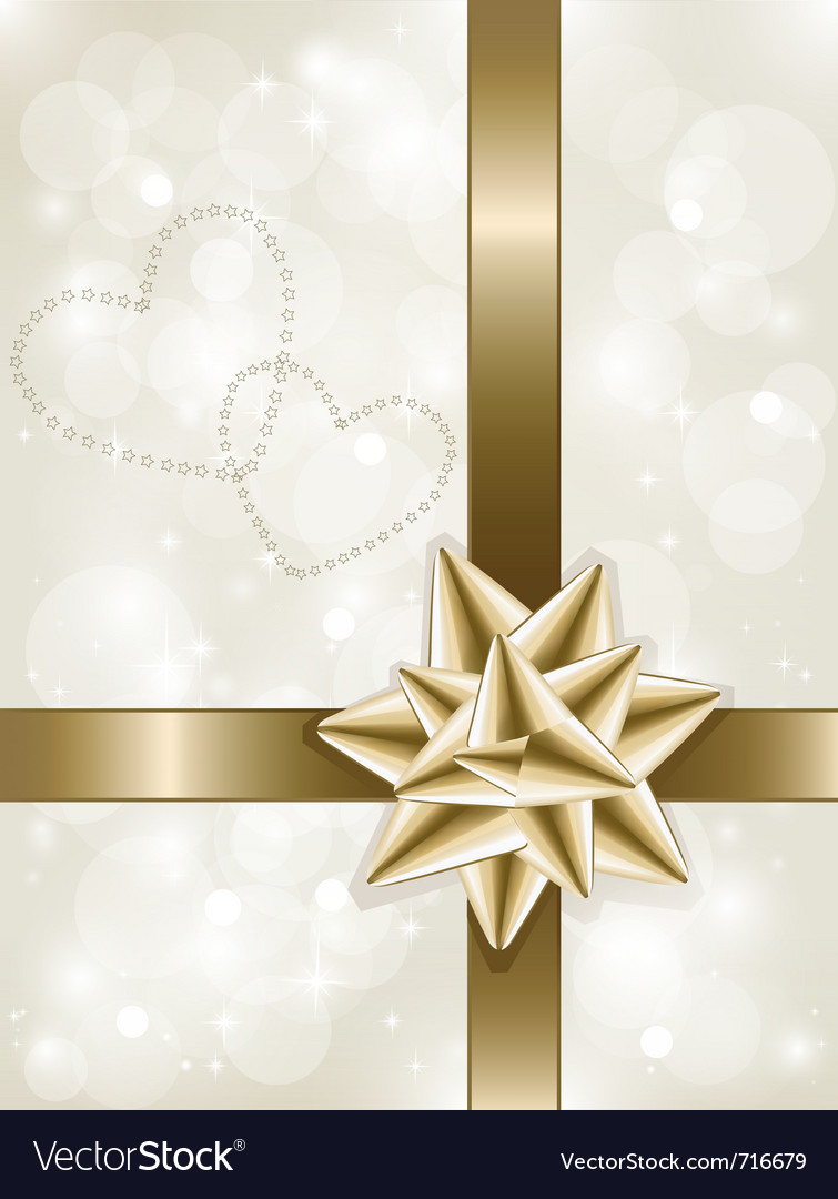 Xmas wrapping vector image