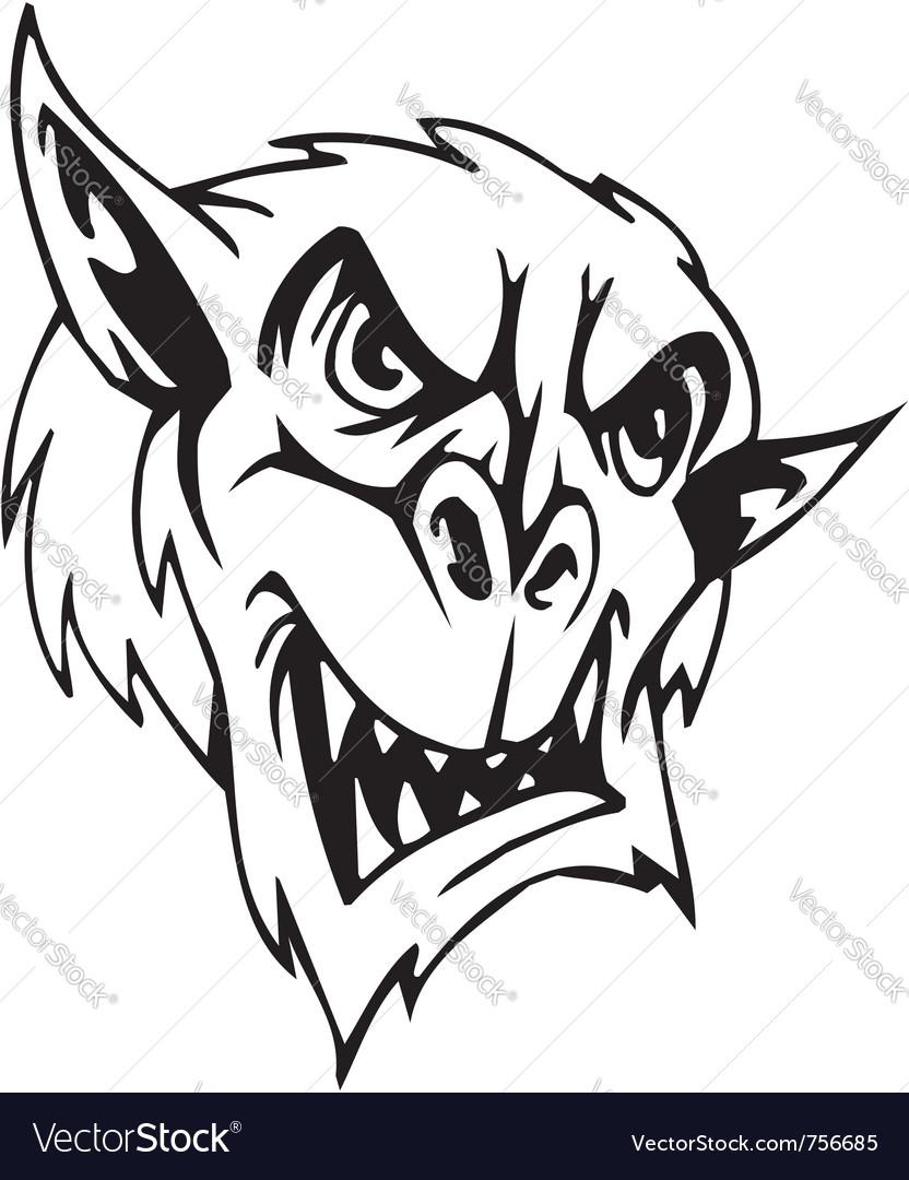 Goblin - halloween set - Vector Image