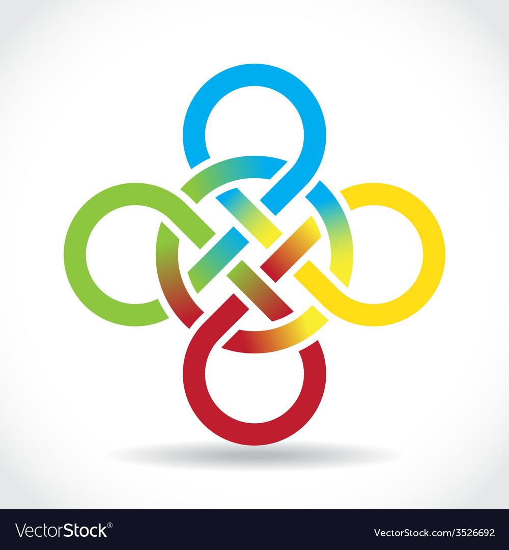 Celtic Symbol Royalty Free Vector Image Vectorstock