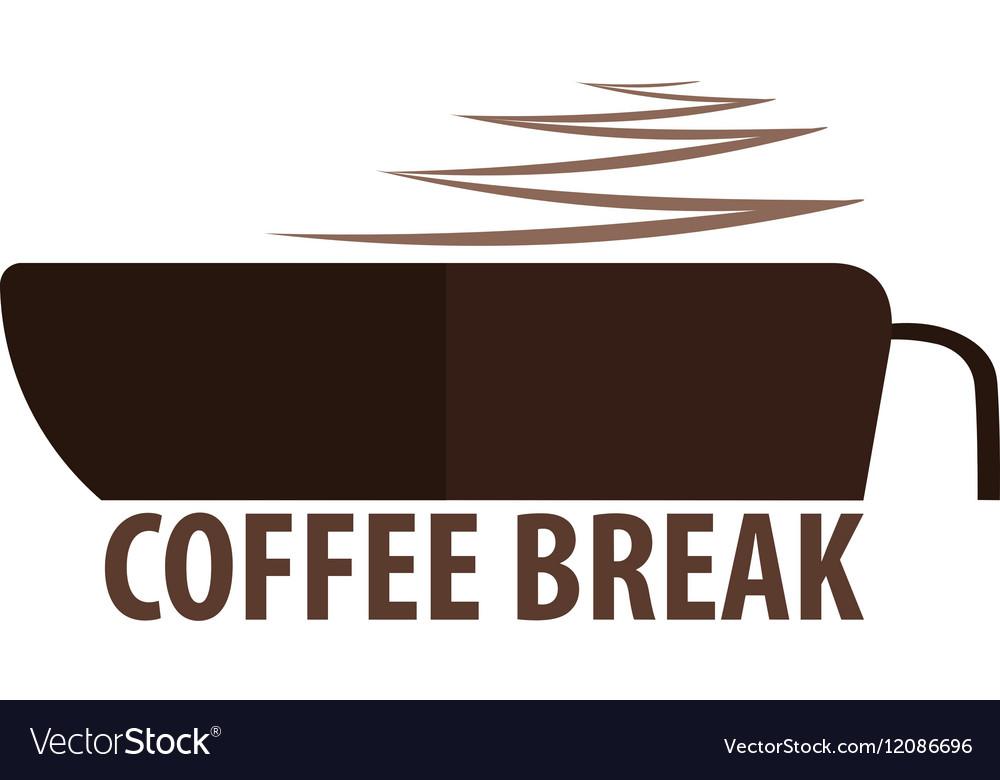 Coffee logo kitchen Coffee vector image