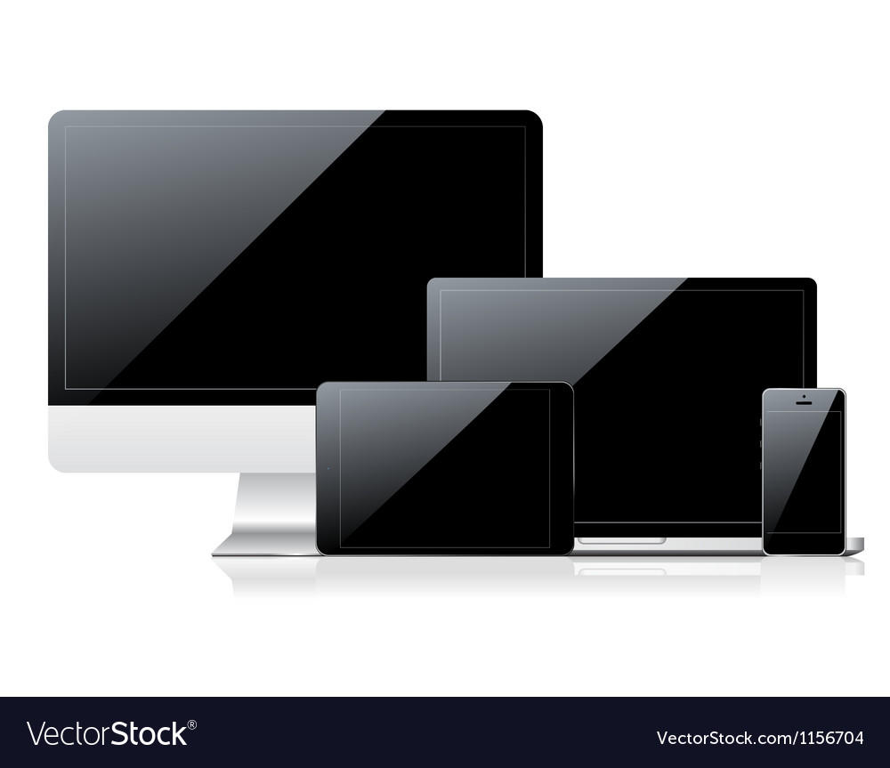 Device set vector image