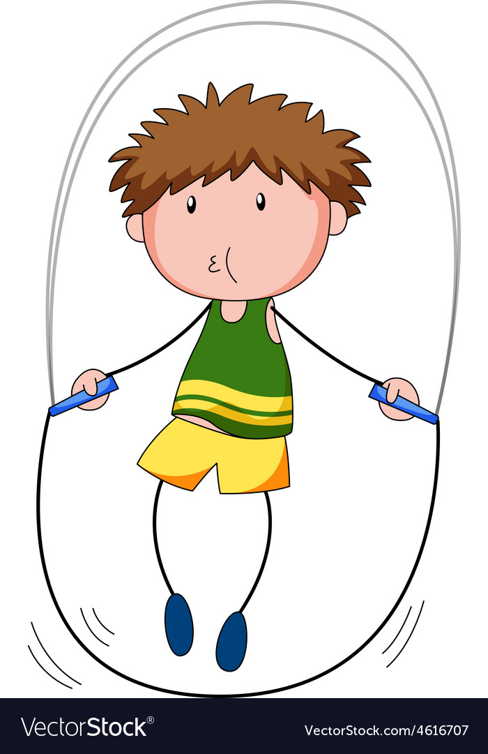 Jumprope vector image