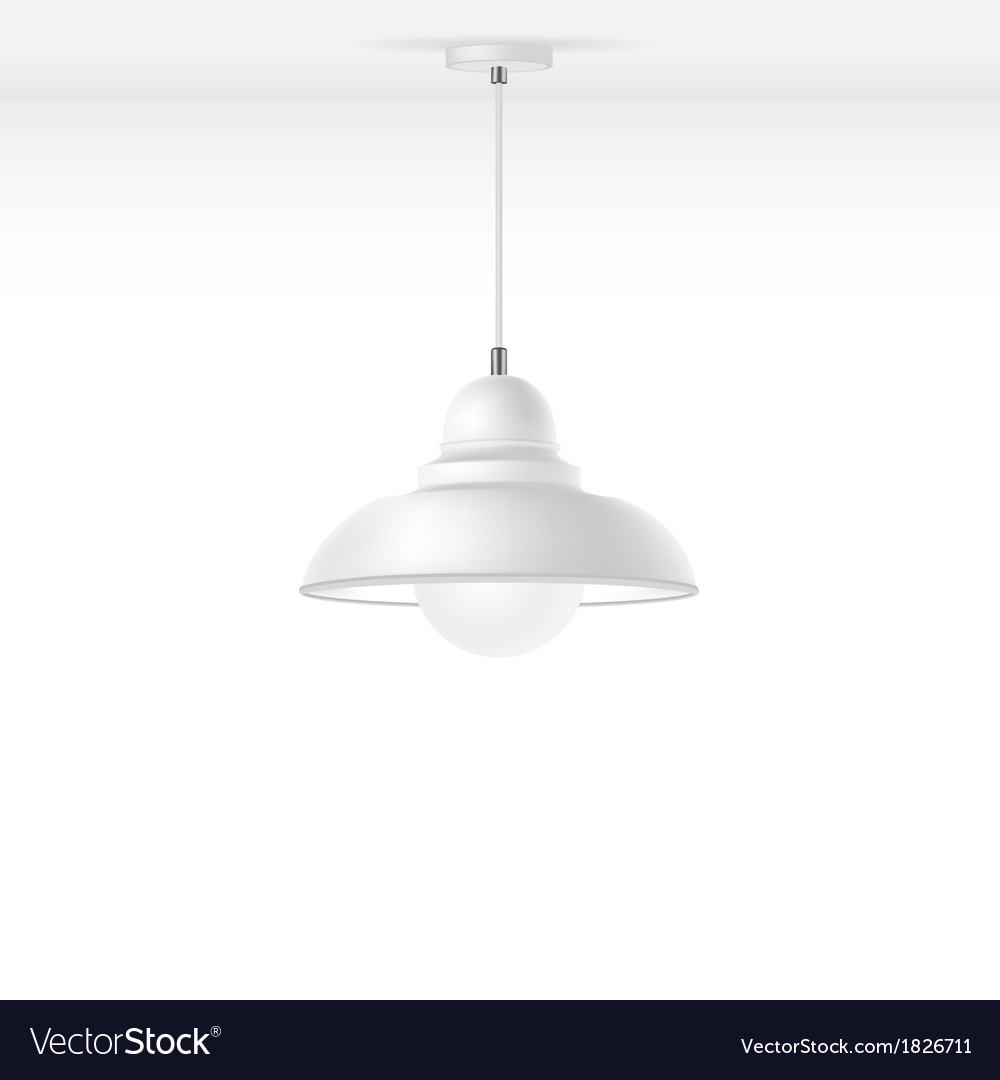 Isolated Lamp Royalty Free Vector Image - VectorStock