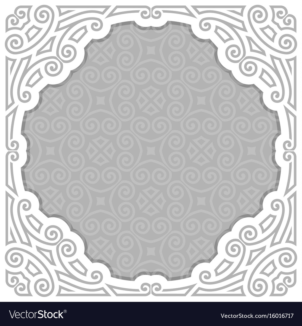 Frame for photo or pictures vector image