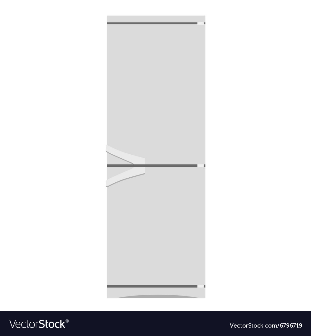 Fridge or refrigerator vector image