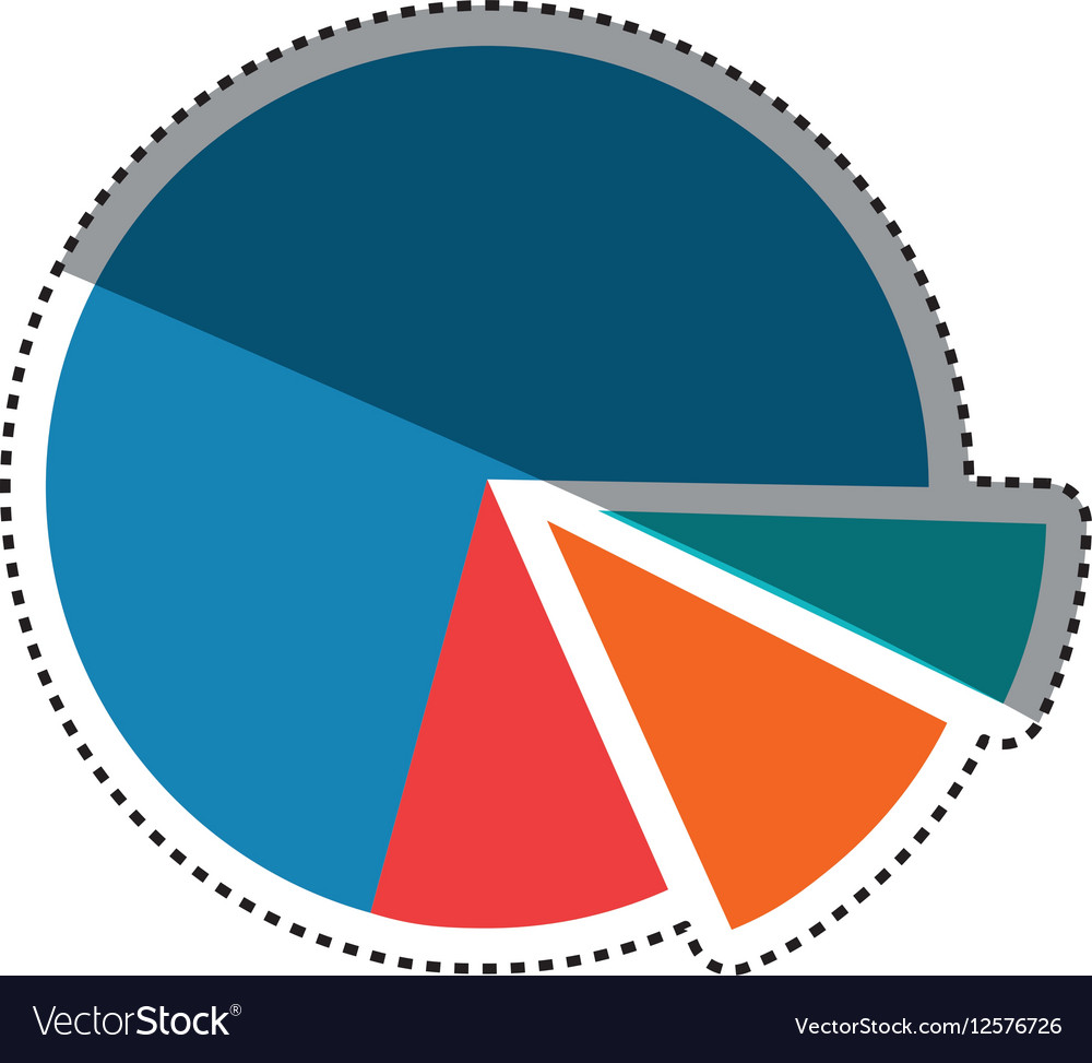 Statistics pie chart royalty free vector image statistics pie chart vector image nvjuhfo Choice Image