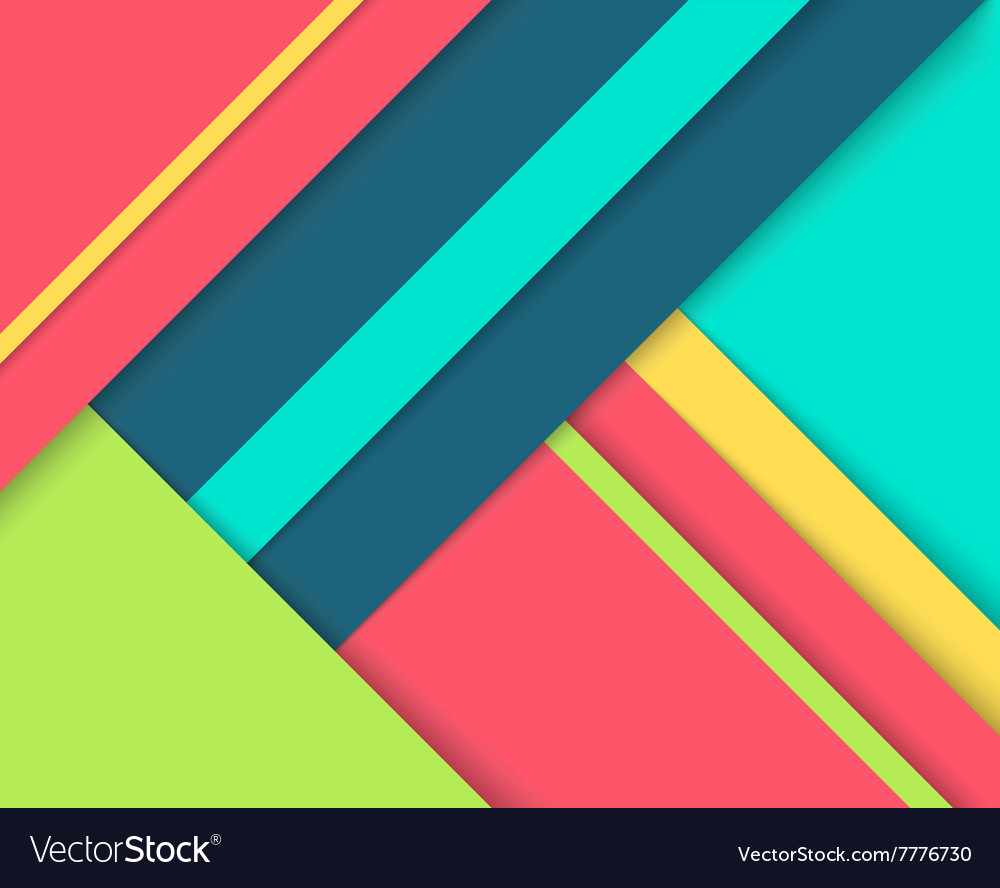 Abstract background with colorful layers vector image