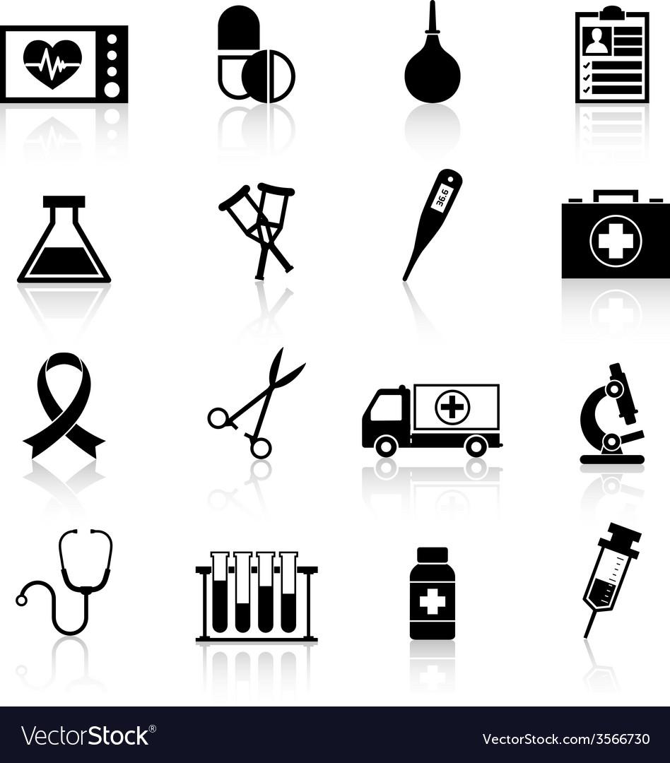 Medical equipment icon black royalty free vector image medical equipment icon black vector image biocorpaavc Choice Image