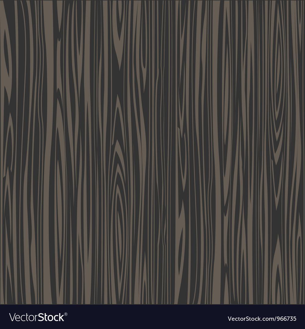 Black wooden texture vector image