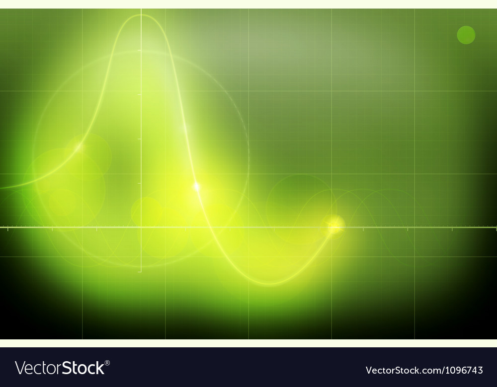 Oscillograph vector image