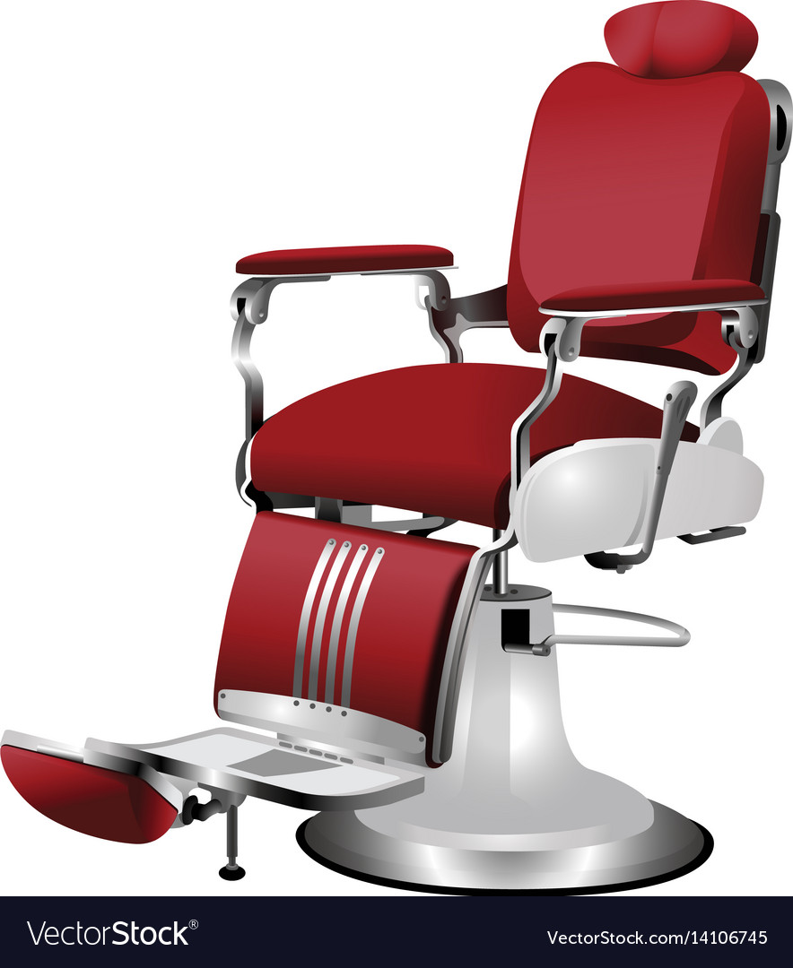 Barber chair vector - Barber Chair Vector Image