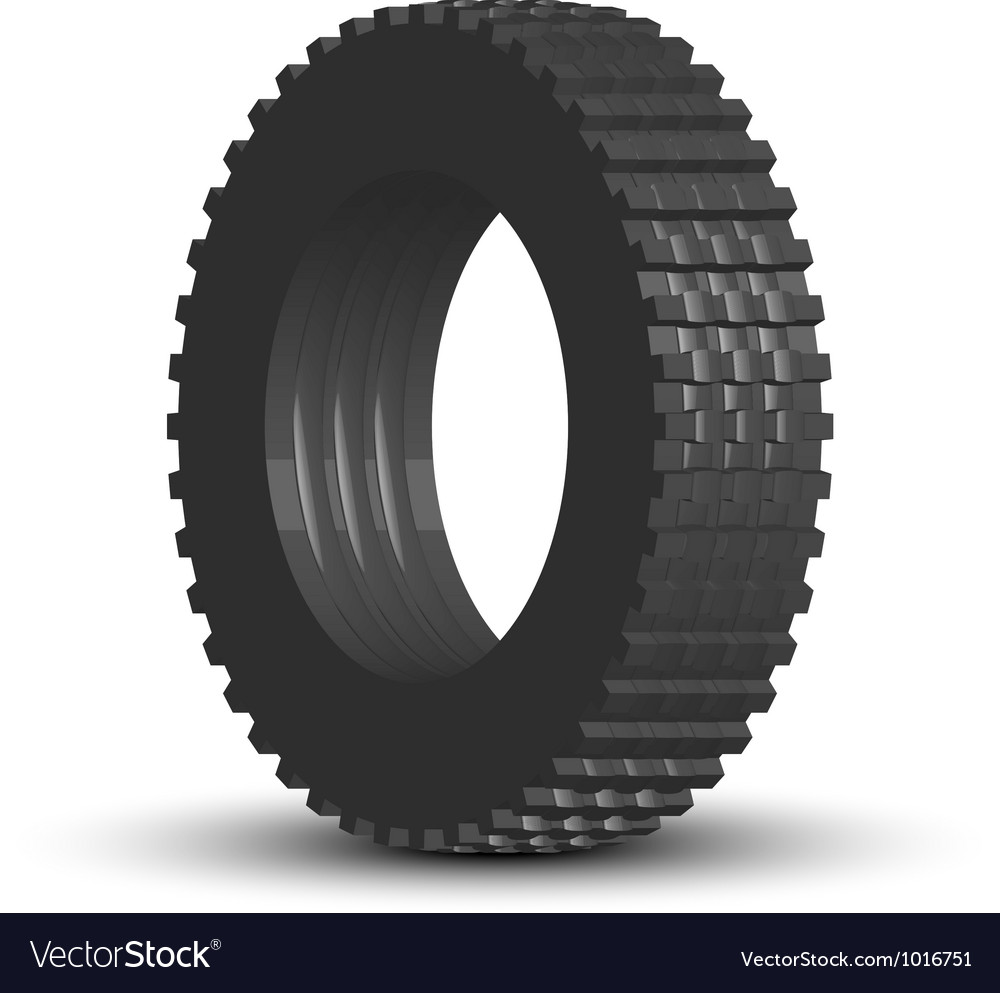 Tire vector image