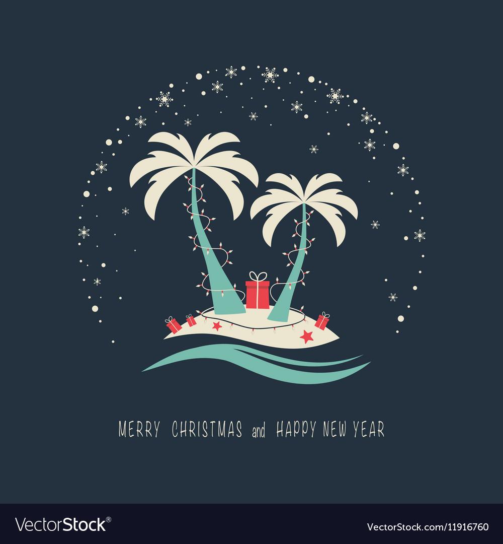 Happy new year 25123 vector image