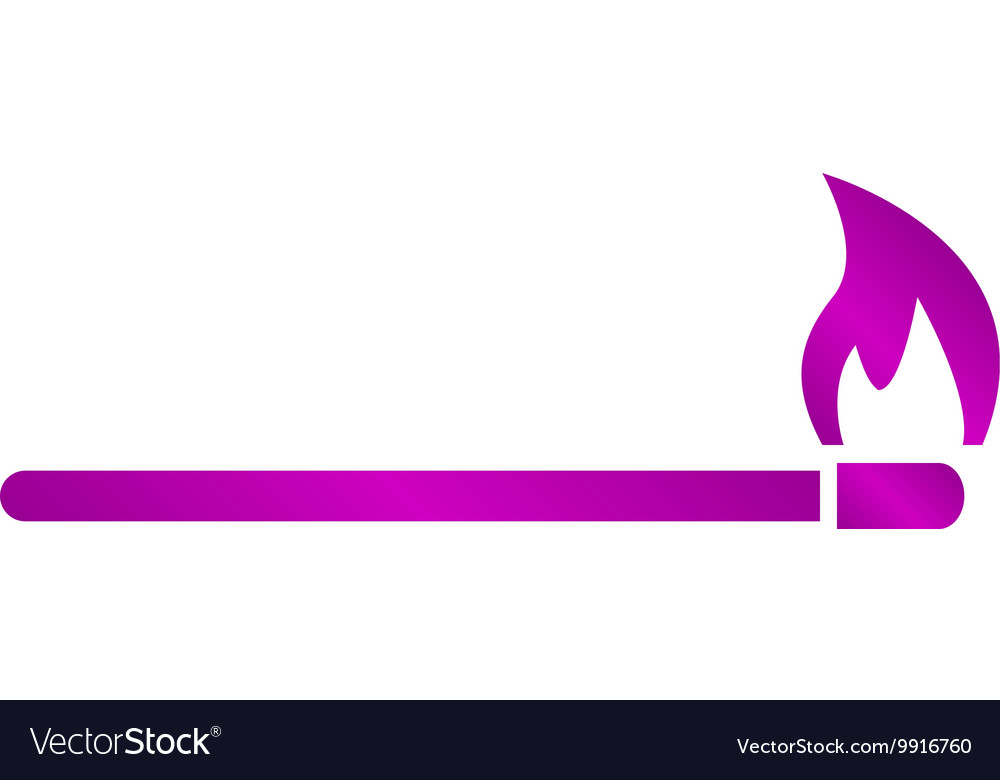 Match icon Flat vector image