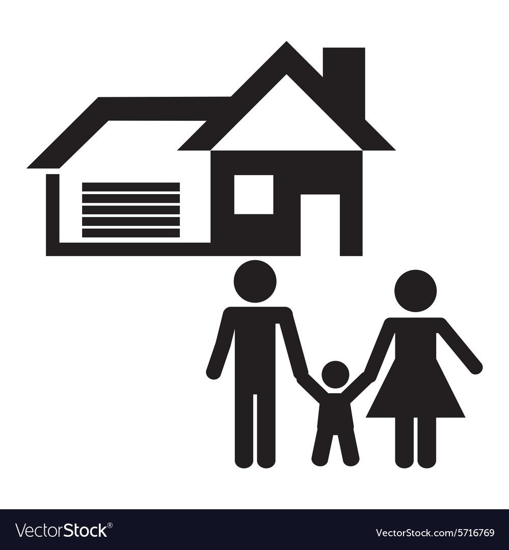 House Design Vector. House Design Vector Image