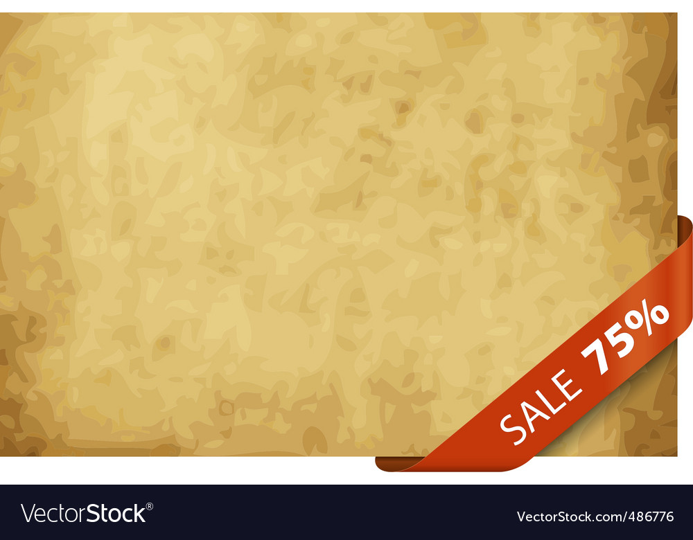 Sale tag 25 percentage vector image
