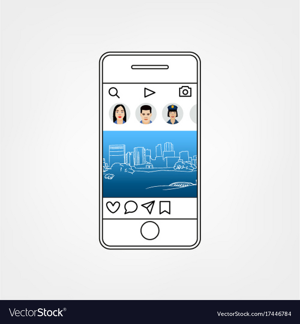 Social network template royalty free vector image social network template vector image pronofoot35fo Images