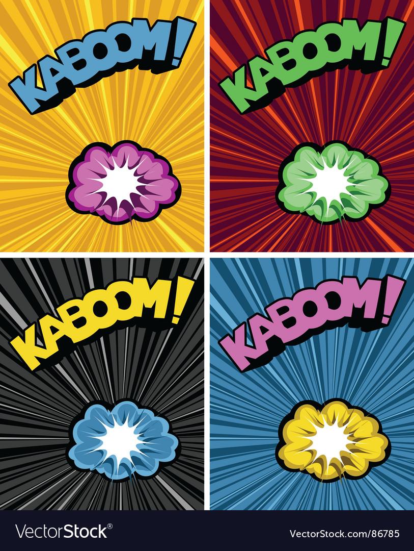 Multi kazoo vector image
