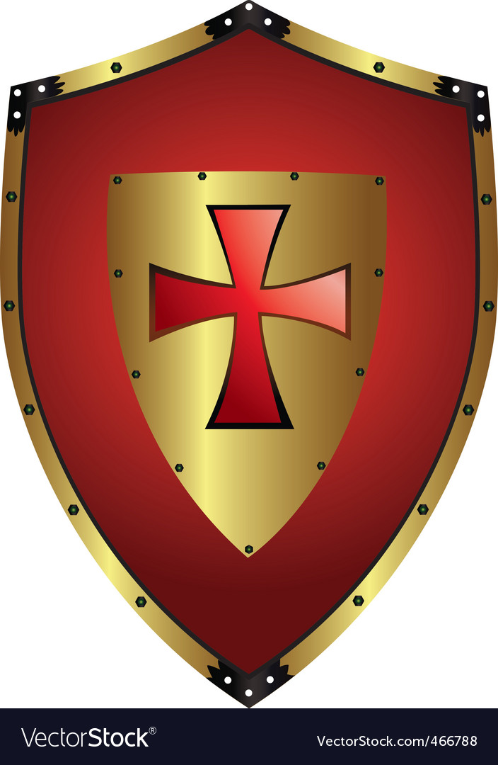 Shapes clipart medieval shield - Pencil and in color shapes ...
