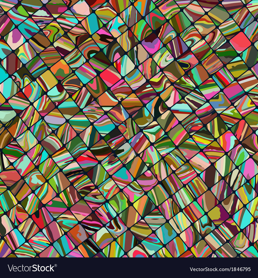 Small tiles texture in different color EPS 10 vector image