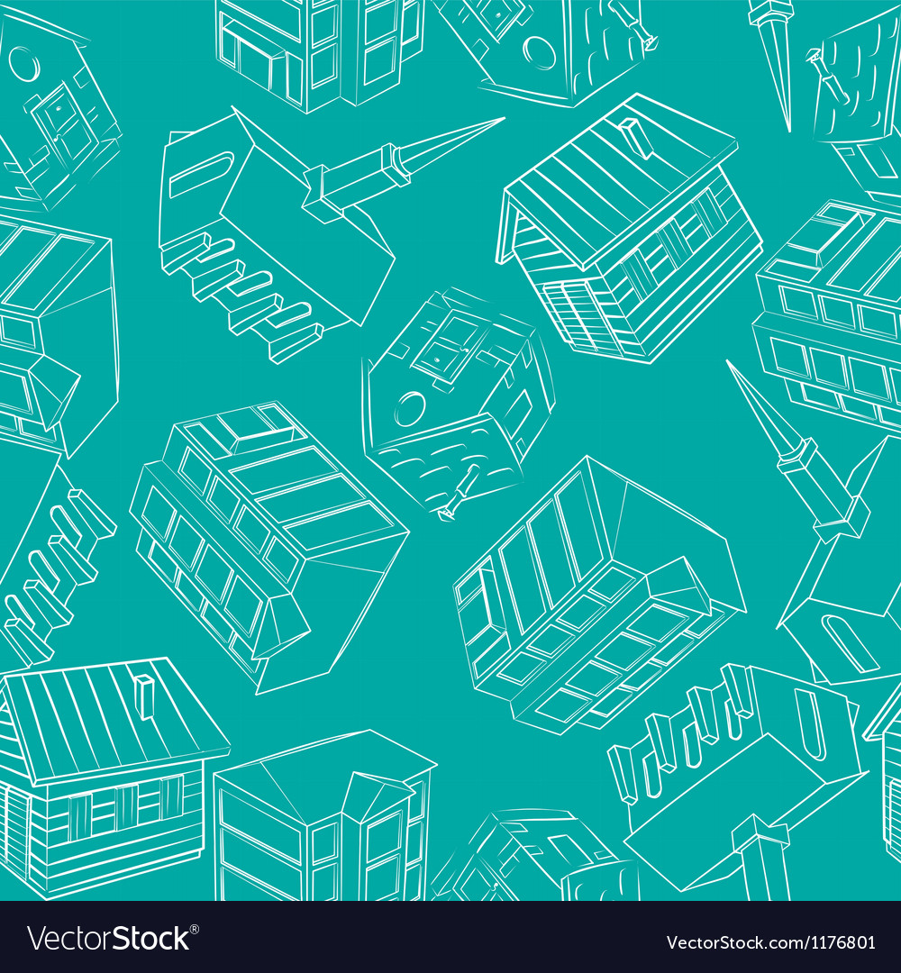 Architecture pattern Vector Image