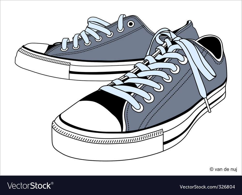 Sneakers shoes Vector Image