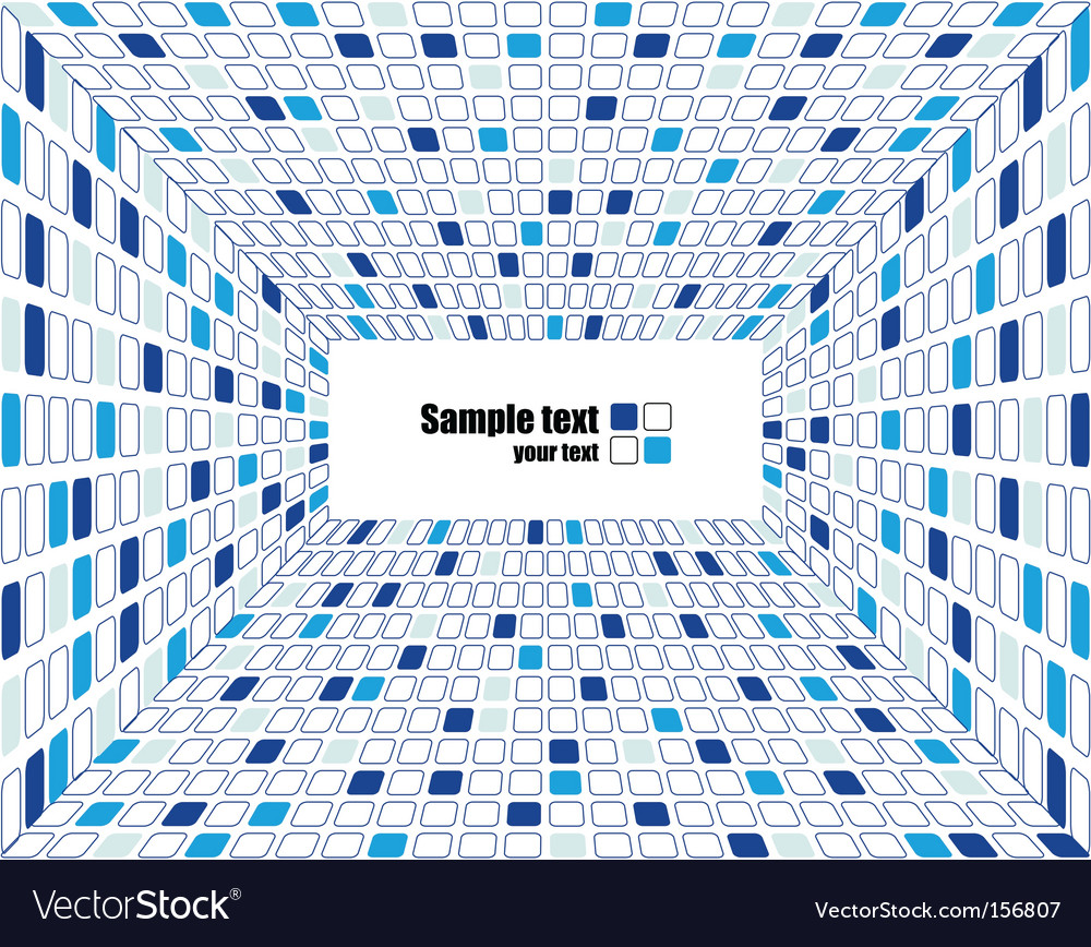 Abstract checked business background vector image