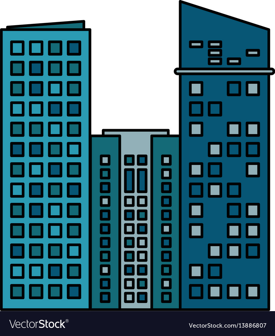 building commercial business skyscraper royalty free vector rh vectorstock com skyscraper line vector skyscraper icon vector