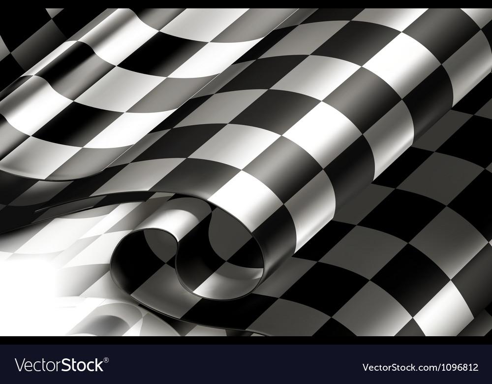 Checkered Background horizontal vector image