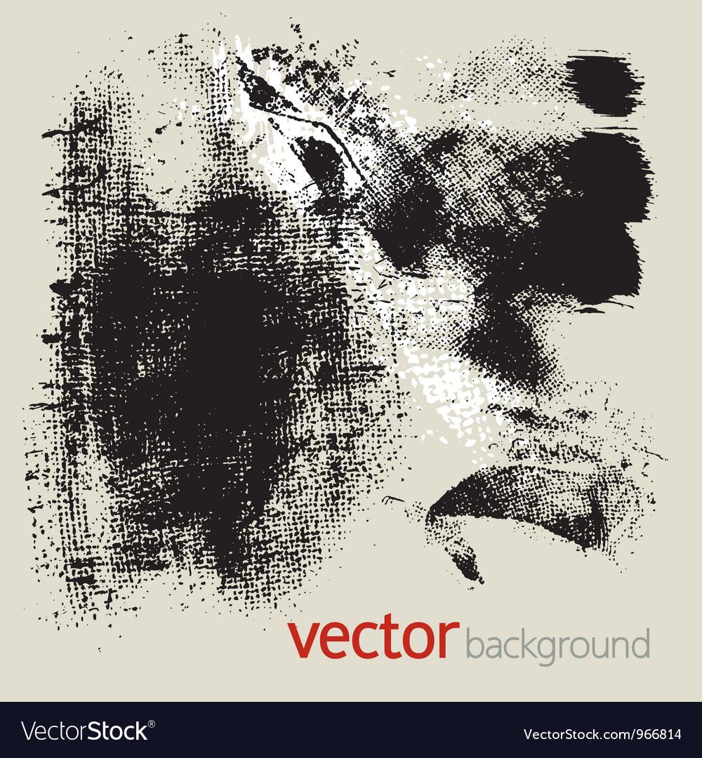 Grunge elements set 3 vector image