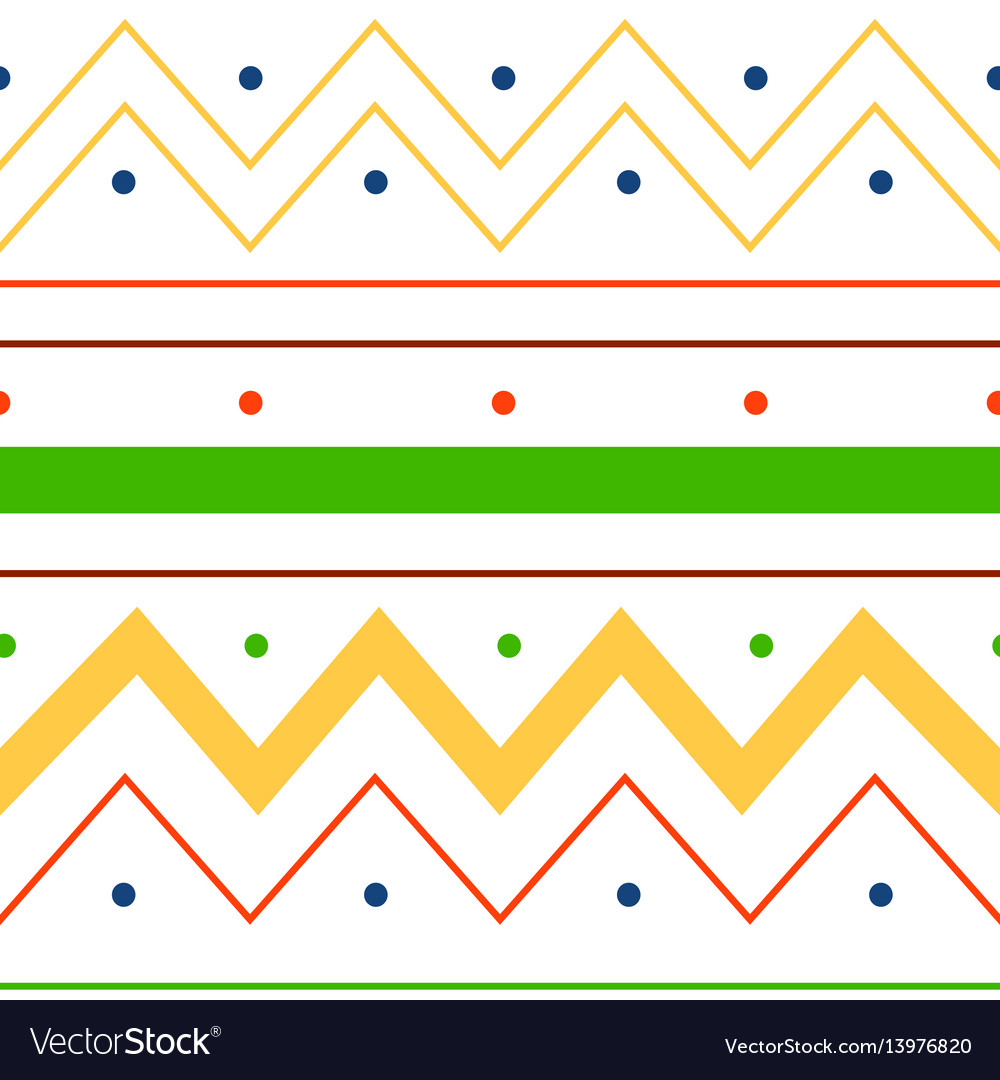 Abstract lines background seamless pattern vector image