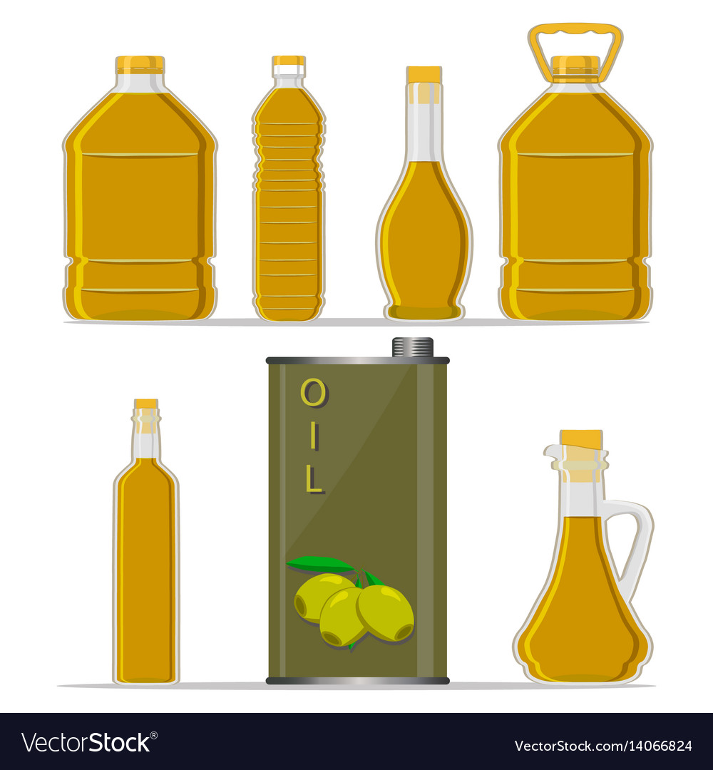 The oil vector image